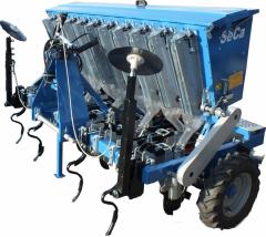 10 sıralı soğan ve sarımsak ekim makinası