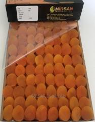 Industrial dried apricots