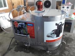 Milk taxi // Milk pasteurization machine