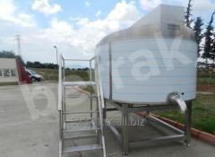 Kashkaval, Mozzarella Process Tanks