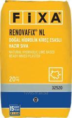 RENOVAFİX NL - Doğal Hidrolik Kireç Esaslı Hazır Sıva