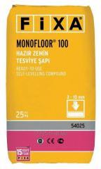 MONOFLOOR 100 - Hazır Zemin Tesviye Şapı (3 - 10 mm)