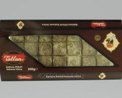 Tiny Baklava Tahini Halva with Cocoa 300 g