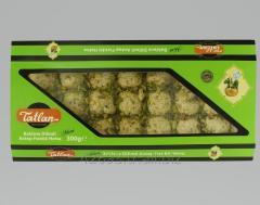 Tiny Baklava Tahini Halva with Pistachios 300 g.