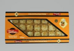 Tiny Baklava Tahini Halva with Sesame seeds 300 g