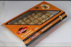 Tiny Baklava Tahini Halva with Sesame seeds 540 g