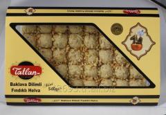 Tiny Baklava Tahini Halva with Hazelnuts 540 g