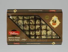 Tiny Baklava Tahini Halva with Coffee 540 g