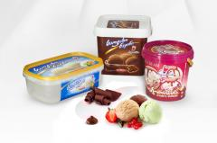 PACKAGES FOR ICE CREAM