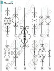 Wrought iron Components Balusters