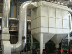 Internal isolation of air flues