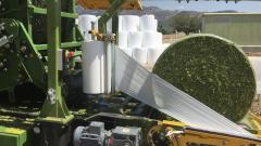 Silage Baler & Wrapper Combination