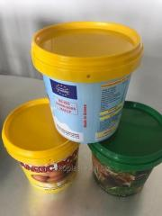 COLORFUL BUCKETS FOR EXPORTATION