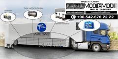 Özel Amaçlı Mobil Trailer Dorsesi imalatı. Özel üretim otobüsler
