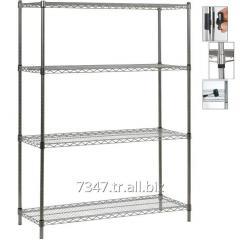 Demountable Wire Storage Shelves