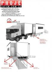Mobile Hospital expandable Truck Trailer Mobil Clinic Manufacture