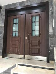 Veneer Building Entrance Door
