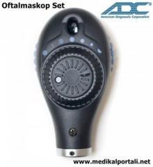 Duvar Tipi Otoskop Oftalmaskop Set ADC 5610-3/5680-3