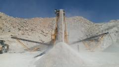 Mobile Limestone, Marble, Gypsum Crushing and Sorting Plant | PRO 120