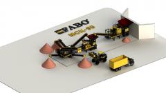 Mobile Basalt Crusher Crusher Plant MCK 95