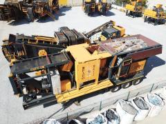 Mobile Crusher Plant MCK 110 Crushing and Screening