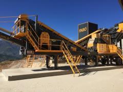 Mobile tertiary crusher | MTK 65 | Mobile tertiary impact crusher