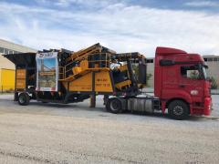 Mobile Sand Washing and Screening Plant
