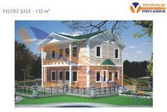 Yıldız Şale ( Multi-Storey Prefabricated Building / Çift Katlı Prefabrik Bina)