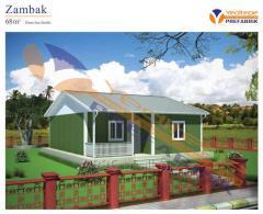 Zambak ( Single-Storey Prefabricated Building/ Tek Katlı Prefabrik Ev )