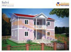 Selvi ( Multi-Storey Prefabricated Building / Çift Katlı Prefabrik Bina)