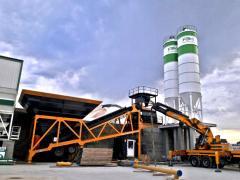 Mobile Concrete Plant * Available Price Equipment * Productive Choice