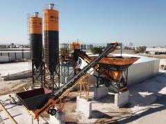 Мобильный бетонный завод * Бетонный Завод для