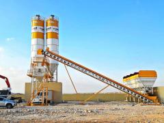 Stationary Concrete Batching Plant | 1 Year Guaranteed Equipment