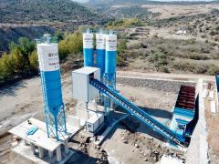 Readymix Concrete Batching Plant | Powermix 130 from Fabo