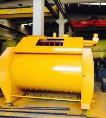 Twin Shaft Mixer | FABO Company | High Quality Concrete Mixer