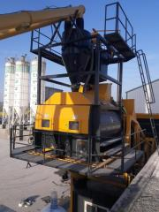 Twin Shaft Mıxer | International Standart Concrete Mixer