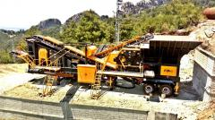 FABO | Mobile Impact Crushing and Screening Plant