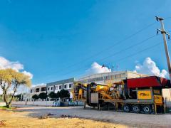 Mobile Limestone Crushing Plant | Crushing and Sorting