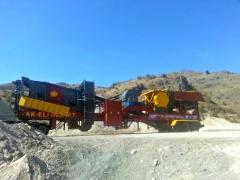 Mobile Hard stone Crushing and Screening Plant | Manufactured by FABO