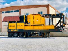 FABO | MCK 110| Mobile HardStone Crushing and Screening Plant | Quality and Price