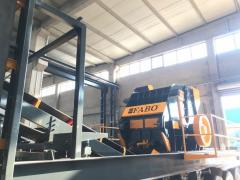 Mobile Type Secondary Impact Crushing Plant * Efficient Equipment