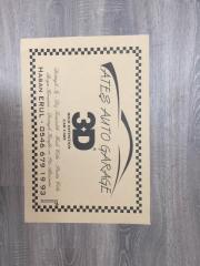 Auto Paper Floor Mat - Oto Kağıt Paspas