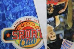Towel with sublimation printing