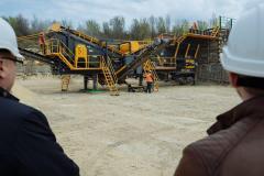16500x3800x4500 mm Mobile Crushing Plant