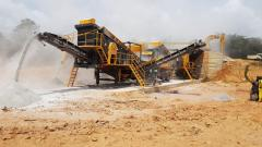 Mobile Jaw and Impact Crushers | 100-180 tons per hour