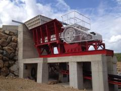 Jaw Crusher with max. 600 mm feeding size | CLK 90