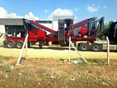 PRO 70 MOBILE CRUSHER / HIGH STROKE TYPE VIBRATING SCREEN