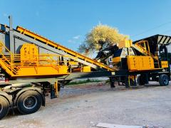 Mobile tertiary crushing & screening plant |