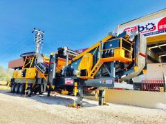 New Generation Mobile Crushing & Screening Plant PRO 15