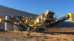 Mobile Stone Crushing and Screening Plant | PRO 150